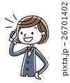 ベクター 電話 スマートフォンのイラスト 26701402