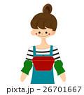 キッチンで料理をする女性 26701667