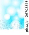 雪の結晶 26708826