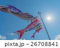 鯉のぼりと青空 26708841