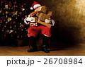 クリスマス サンタさん サンタクロースの写真 26708984
