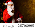 クリスマス サンタさん サンタクロースの写真 26708995