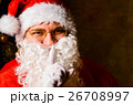 クリスマス サンタさん サンタクロースの写真 26708997