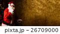 クリスマス サンタさん サンタクロースの写真 26709000