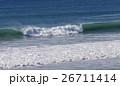 波 ブルー 水の写真 26711414