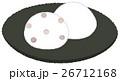 和菓子 お菓子 大福のイラスト 26712168