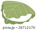 和菓子 お菓子 柏餅のイラスト 26712170