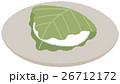 和菓子 お菓子 柏餅のイラスト 26712172