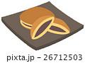 和菓子 甘味 お菓子のイラスト 26712503