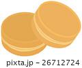 和菓子 甘味 お菓子のイラスト 26712724
