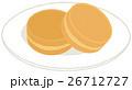 和菓子 お菓子 おやつのイラスト 26712727