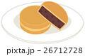 和菓子 お菓子 あんこのイラスト 26712728