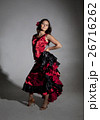 Young woman dancing flamenco 26716262