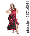 Young woman dancing flamenco 26716264