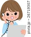 働く女性 笑顔 打ち合わせ アイパット 求人 転職 26719307