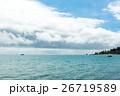 ニューカレドニア(ヌメア)の空と海 26719589