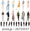 ファッション 女性 人物のイラスト 26720537