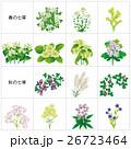 花 七草 風物詩のイラスト 26723464