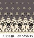 ウサギ ノルディック柄, 26729045