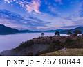 天空の城 竹田城の朝と雲海 26730844