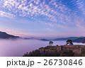 天空の城 竹田城の朝と雲海 26730846