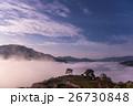 天空の城 竹田城の朝と雲海 26730848