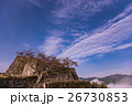 天空の城 竹田城の朝と雲海 26730853