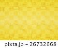 市松模様 和風 背景のイラスト 26732668