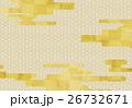 和柄 背景 和風のイラスト 26732671