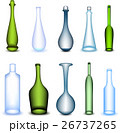 Set colorful bottle in different form. Vector 26737265