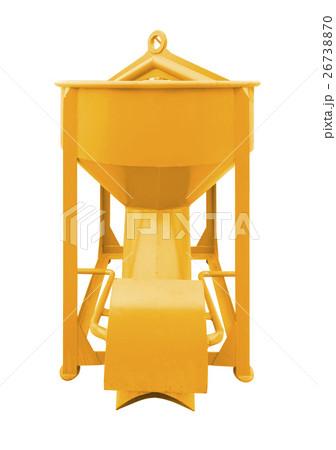Concrete bucket isolatedの写真素材 [26738870] - PIXTA