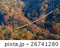 ほしだ園地 星のブランコ 吊り橋の写真 26741280
