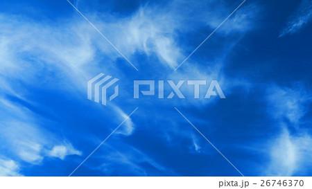 青空と巻雲 26746370