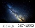 天の川 星空 夜空の写真 26748552