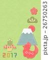 2017酉鶏フエルト富士山英 26750263