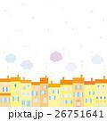 街並み 雪 雲 26751641