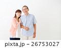 親子イメージ シニア男性・ミドル女性 26753027