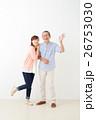 親子イメージ シニア男性・ミドル女性 26753030