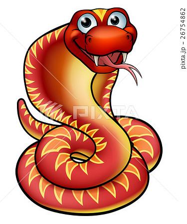 Cartoon Cobra Snake Character 26754862