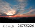 紀伊山地の夕焼け 26755220