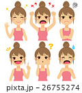 Woman Expressions Set 26755274