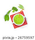 スムージー グリーン 緑色のイラスト 26759597