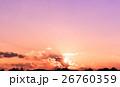 夕方 夕 夕暮の写真 26760359