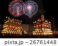 【埼玉県】秩父夜祭の山車と花火 26761448