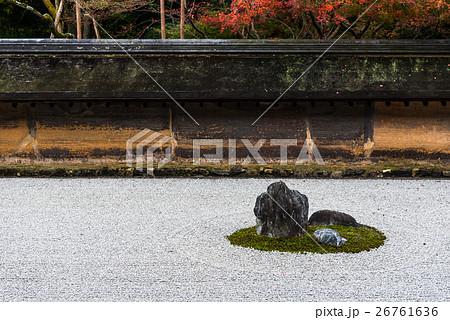 秋の京都 龍安寺 26761636