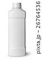 White plastic bottle of detergent 26764536