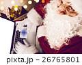 サンタさん サンタクロース PCの写真 26765801