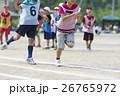 運動会イメージ(リレー) 26765972