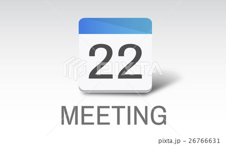 Agenda Events Reminder Meeting Appointment Conceptのイラスト素材 [26766631] - PIXTA