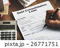 金融 地固め 借金の写真 26771751